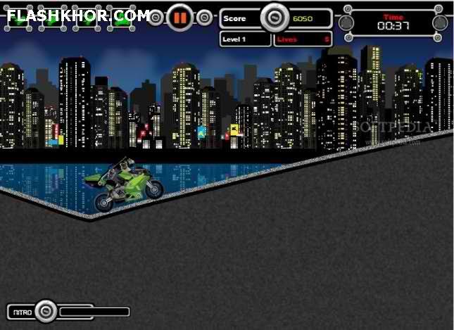 بازی آنلاین نینجای موتور سوار - ورزشی فلش