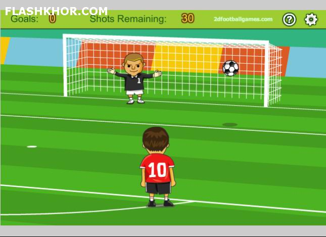 بازی آنلاین فوتبال متخصص ضربه آزاد ایستگاهی 3 - ورزشی فلش