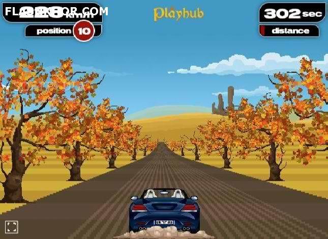 بازی آنلاین رانندگی با فریاد - ماشین سواری فلش