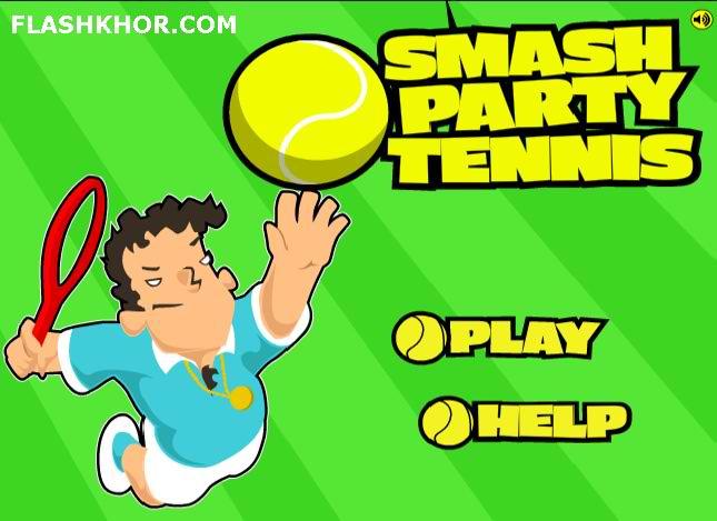 بازی آنلاین تنیس : مسابقات قهرمانی فلش