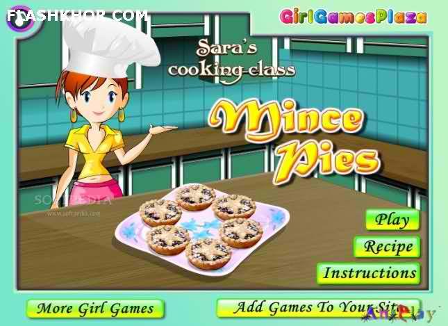 بازی آنلاین آشپزی مایس پایز - دخترانه فلش