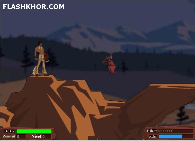 بازی آنلاین آخرین سرخپوست - ادونچر ماجرایی فلش