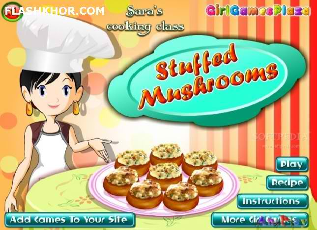 بازی آنلاین آشپزی خوراک قارچ - دخترانه فلش