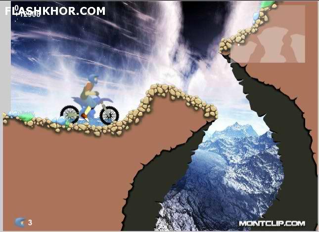 بازی آنلاین موتور سواری رویایی - ورزشی فلش