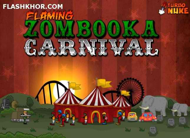 بازی آنلاین زامبوکای شعله ور 3 - زامبی zombie فلش