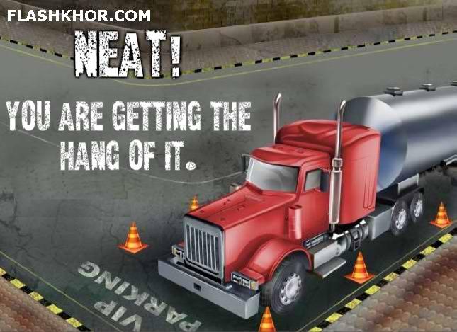 بازی آنلاین پارک ماشین کامیون آمریکایی 2 - ماشین سواری فلش