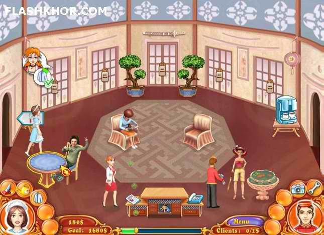 بازی آنلاین هتل داری هتل خانم جین: قهرمان خانواده فلش