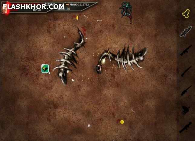 بازی آنلاین جهنم مرگبار - تیراندازی جنگی فلش