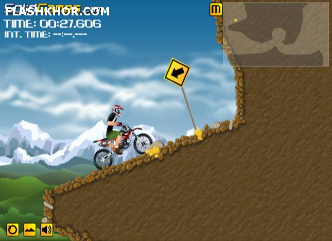 بازی آنلاین موتور سواری موتور سوار سخت کوش فلش