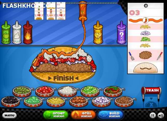 بازی آنلاین رستوران داری ایتالیایی تاکو میا پاپا- دخترانه فلش