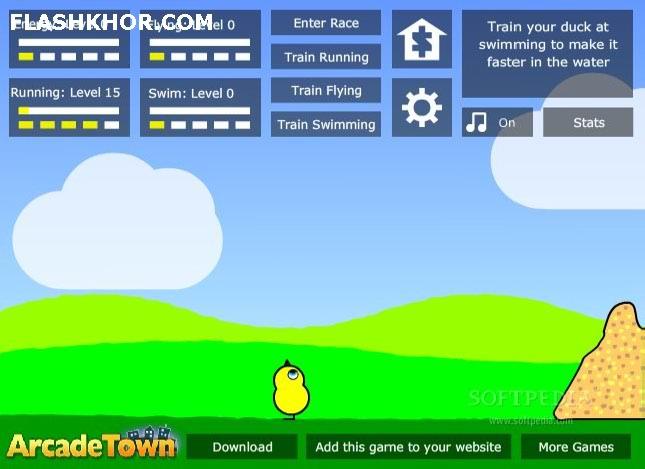 بازی آنلاین زندگی یک جوجه 2 - ماجرایی فلش