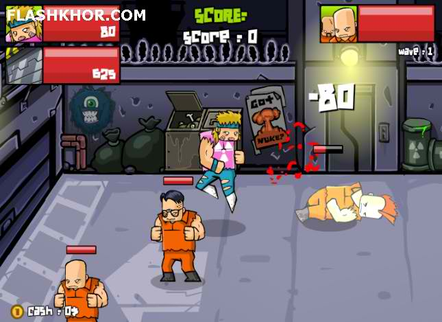 بازی آنلاین مبارز هسته ای 2048 - اکشن جنگی فلش