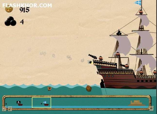 بازی آنلاین دزدان دریایی اقیانوس فلش