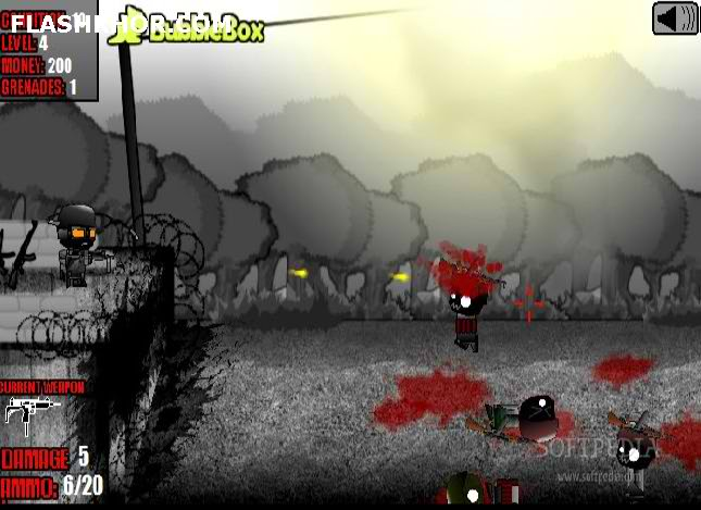 بازی آنلاین سرباز سیاه - تیراندازی فلش