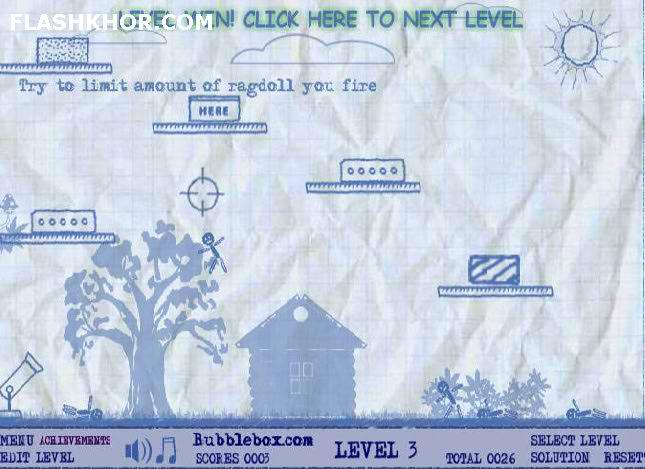 بازی آنلاین توپ جنگی ردگل 3 - فکری تیراندازی فلش