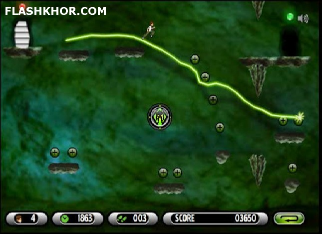 بازی بن تن بن 10 : کاوش در غار آنلاین