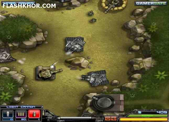 بازی آنلاین تانک برق آسا - جنگی فلش