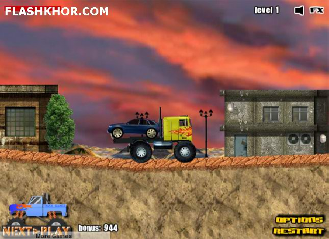 بازی آنلاین کامیون سواری: عشق کامیون 2 - ورزشی فلش