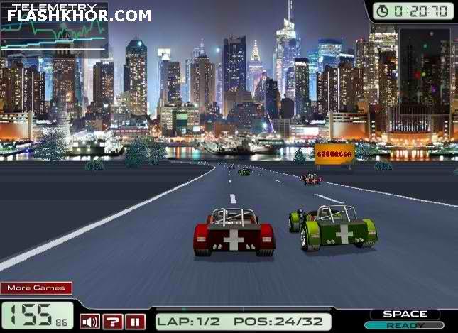 بازی آنلاین فرمول یک مسابقات 2012 - ورزشی ماشین سواری فلش