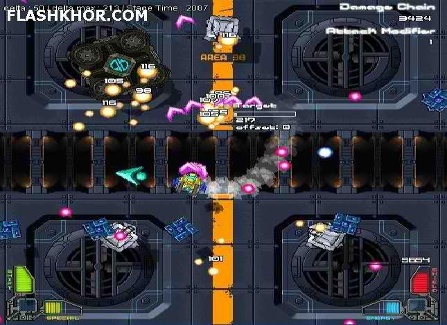بازی آنلاین سفینه فضایی - اکشن هواپیمایی فلش