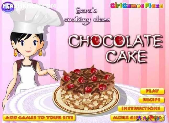 بازی آنلاین آشپزی کیک شکلاتی خوشمزه - دخترانه فلش