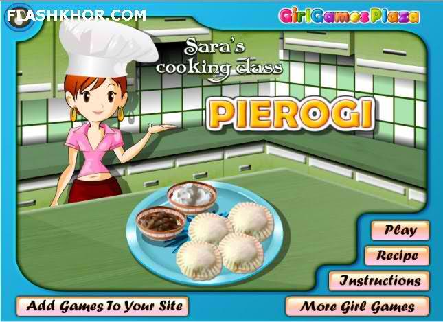 بازی آنلاین آشپزی پیه روجی - دخترانه فلش