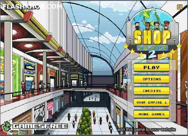بازی آنلاین مدیریتی امپراطوری فروشگاه ها 2 - استراتژیک فلش