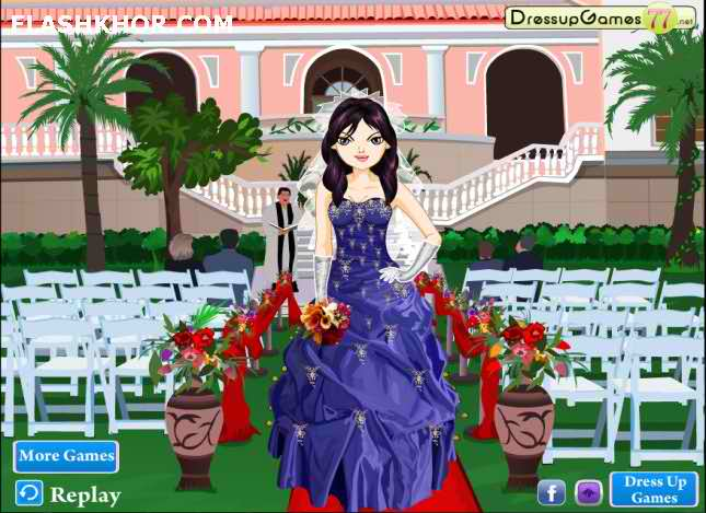 بازی فروشگاه لباس عروس و داماد