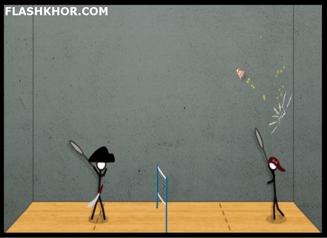 بازی آنلاین بدمینتون - ورزشی فلش