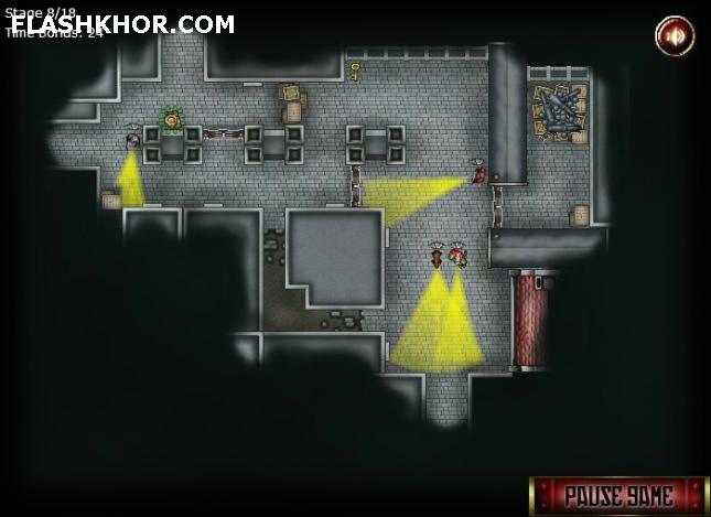 بازی آنلاین مامور مخفی - اکشن فلش