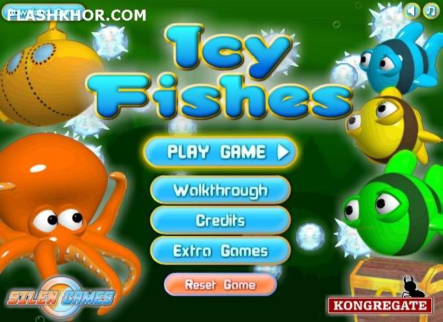 بازی آنلاین ماهی های یخی - اکشن فلش