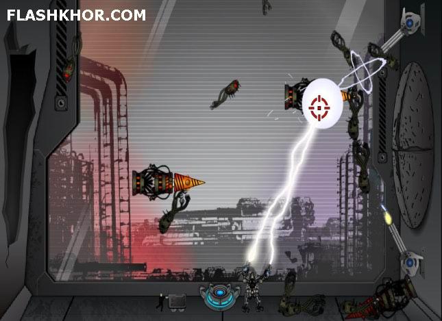 بازی آنلاین آدم آهنی مبارز - تیر اندازی فلش
