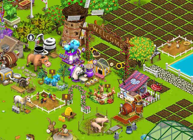 بازی آنلاین مزرعه داری خانوادگی - دخترانه فلش