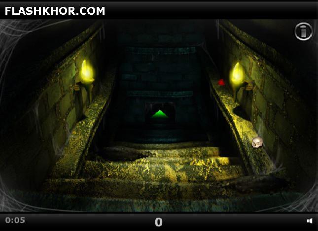بازی آنلاین فرار از معبد - ادونچر فلش