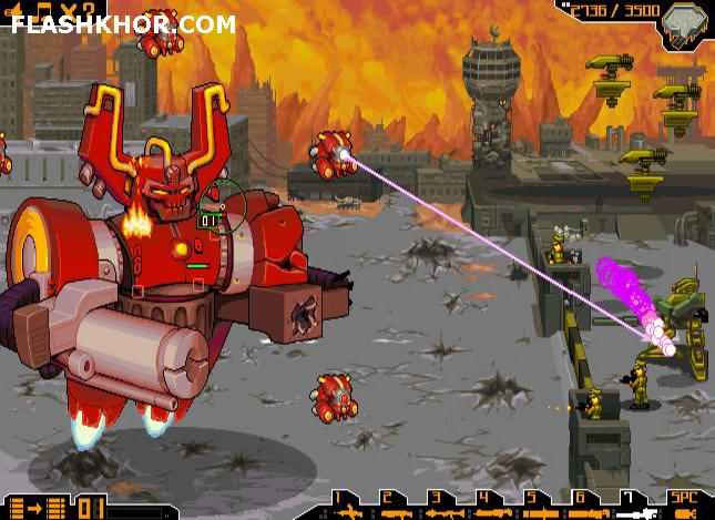 بازی آنلاین ارکس - استراتژیک جنگی فلش
