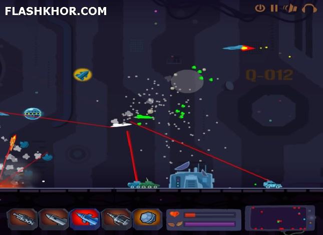 بازی آنلاین هواپیمای فوق العاده - اکشن فلش