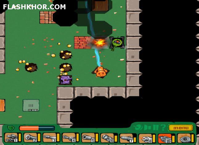 بازی آنلاین تانک فوق العاده 2 - اکشن جنگی فلش