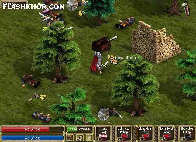 بازی آنلاین پادشاهان جزیره - ادونچر فلش