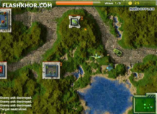 بازی آنلاین هلیکوپتر جنگی نظامی فلش
