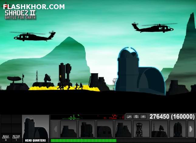 بازی آنلاین شیدز 2 - استراتژی جنگی فلش