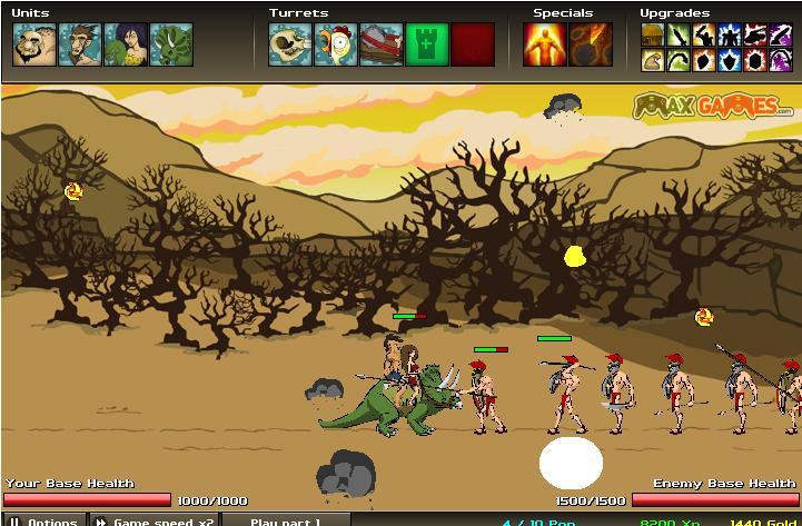 بازی آنلاین دوران جنگ 2 - استراتژیک فلش