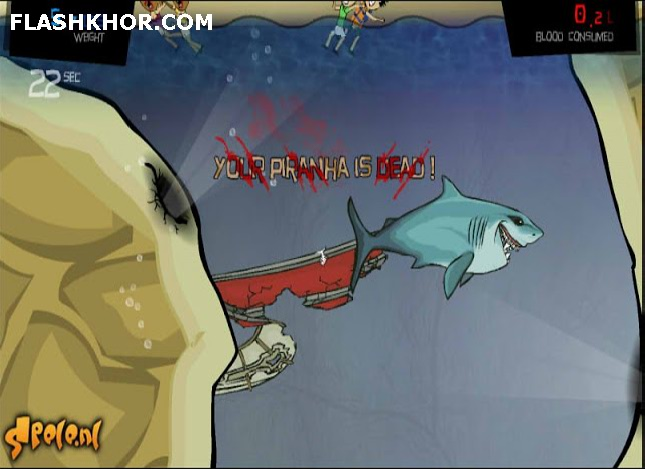 بازی آنلاین ماهی خشن 3 - اکشن فلش