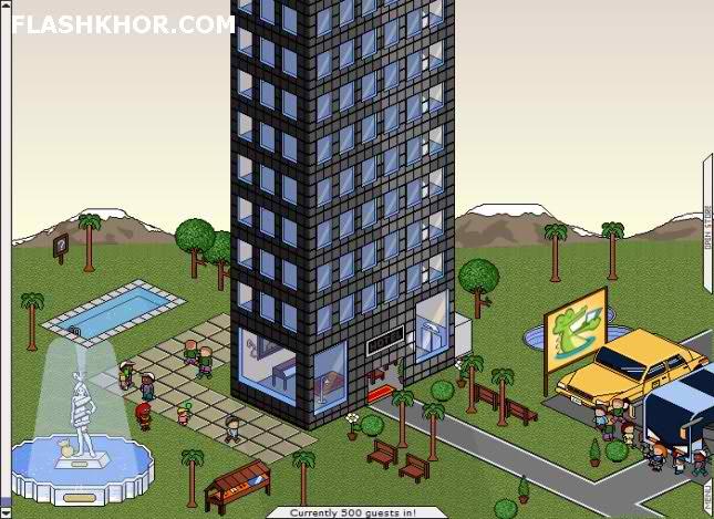 بازی آنلاین هتل بارون - هتل داری مدیریتی استراتژیک فلش