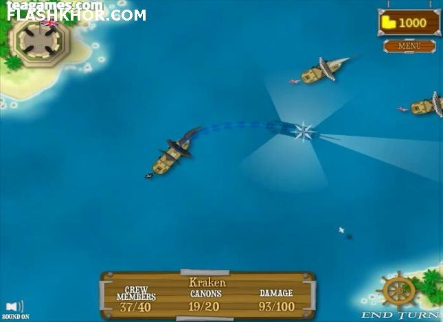 بازی آنلاین دزدان دریایی : بادبان سیاه فلش