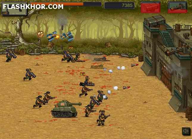 بازی آنلاین شورش در جنگل - تیراندازی فلش