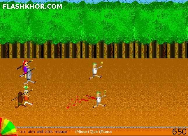 بازی آنلاین شکار مشعل - تیراندازی فلش