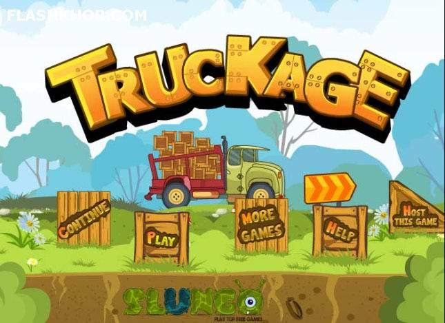 بازی آنلاین کامیون سواری حمل بار با کامیون  ورزشی فلش