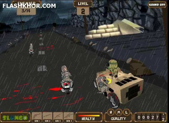 بازی آنلاین مسیر جنگی - اکشن فلش
