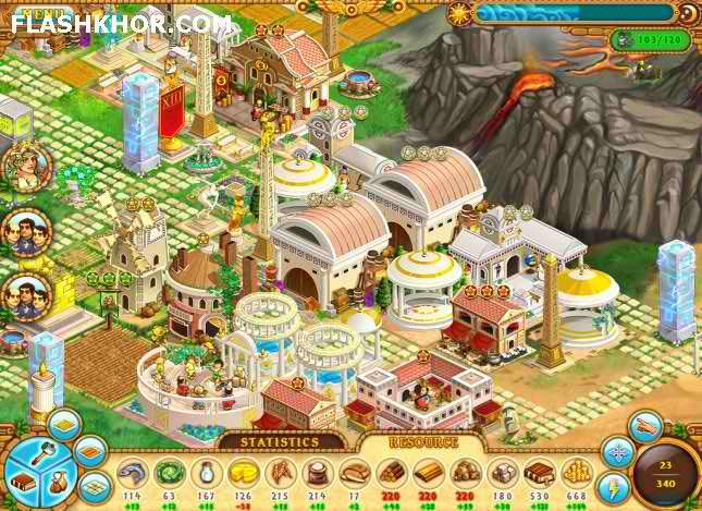 بازی آنلاین خدایان عصر باستان - استراتژیک فلش