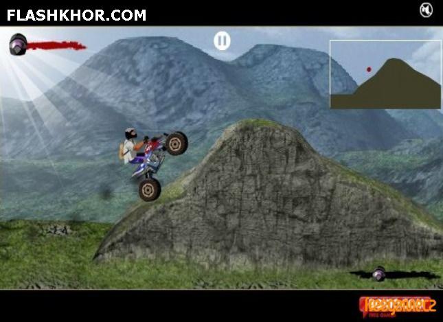 بازی آنلاین ماشین سواری آ تی وی 4 - ورزشی فلش فلش
